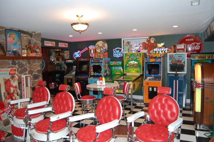 Mike's Game Room Retro Chairs