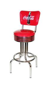 264-782-RB-CBB Coca Cola Retro Barstool