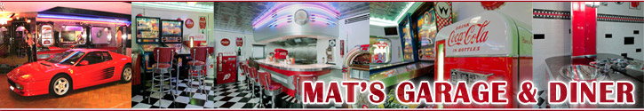 Residential Customers Mat's Retro Garage & Diner