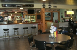 Custom Bar and Retro Diner Furniture for Cruise In Country Diner, Hillsboro, OR