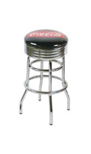 215-782-FT Coca Cola Retro Barstool