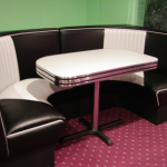 Malibu Series Half-Circle-Diner Booth