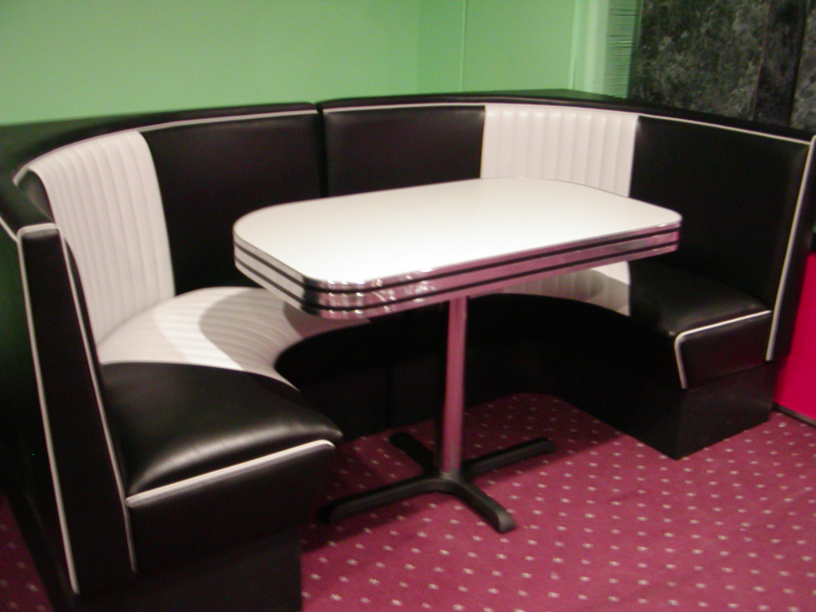 Malibu Series Half Circle Diner Booth Bars amp Booths
