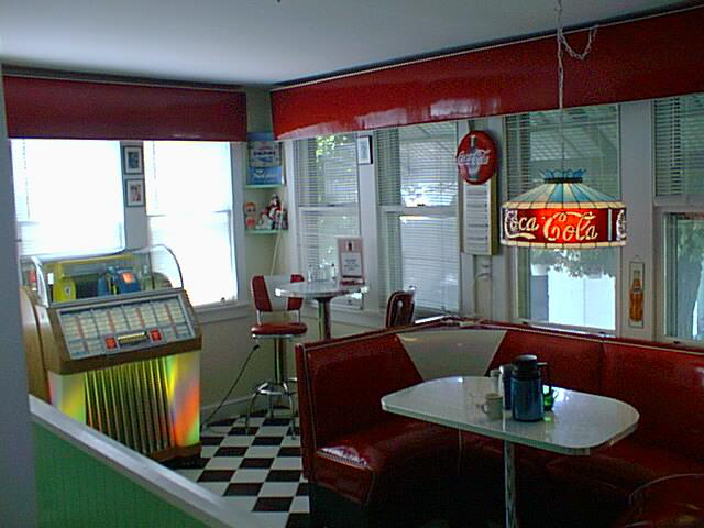 Half Circle Booths Restaurant Diner Retro 1950 S Kitchen