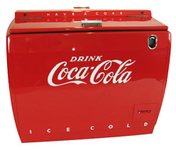 WD12 Coca Cola Cooler
