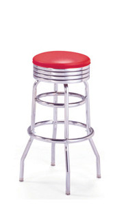 215-782 Retro Barstool - BARSandBOOTHS.com Model B1T3