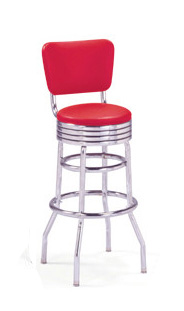 215-782 RB - retro barstool - BARSandBOOTHS.com Model B1T3B