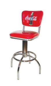 300-921-CBB Coca Cola Retro Barstool