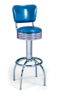 Model 300-782-RB Retro Barstool