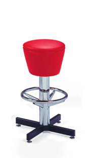 500-161 Retro Barstool with Footring