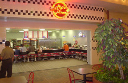 Custom Bar and Retro Diner Furniture for Pop's Fifties Diner and Restaurant