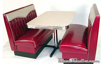 Chevy Series Model CH-1 Big Bopper Retro Diner Booth
