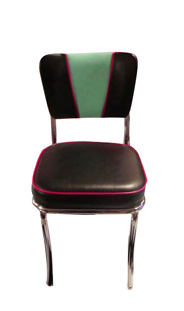 921V-SH Retro Diner Chair - BarsandBooths Model C1-V