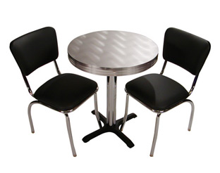 Retro Cafe Seating