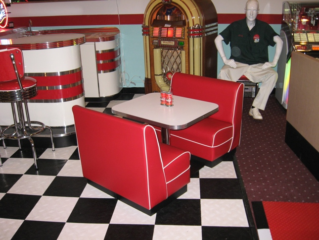 Children 39 S Diner Booth Play House Family Room Kitchen