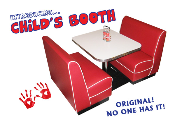 Child's Diner Booth