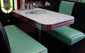 Sierra Series Model SR-1 - Deco Diner Booth