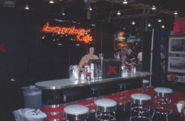 Marzocchi Portable Custom Trade Show Bar - Italy