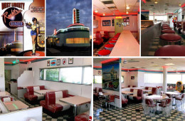 Retro Diner Furniture for West Liberty Rockitz Retro Diner