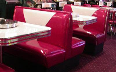 Diner Booth SetsRetro Diner Booths 50s