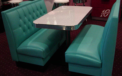 Serenade Series Model SD-1 - Vegas Retro Diner Booth