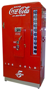 Vendo 110 Coca Cola Soda Machine