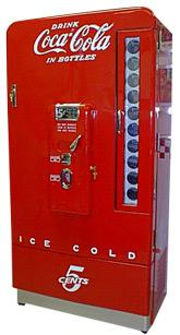 Vendo 110 Coca Cola Soda Machine