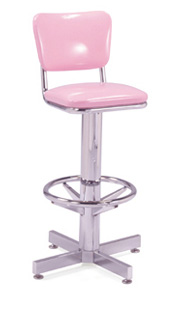 500-921 Retro Barstool with Footring