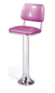 1500 - 530 Retro Barstool - Floor Mounted
