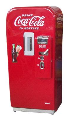 Vendo 39 Soda Machine 187 Bars Amp Booths