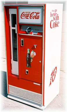 This Is A Original Fully Restored 1960S Cavalier 64 Coke Machine