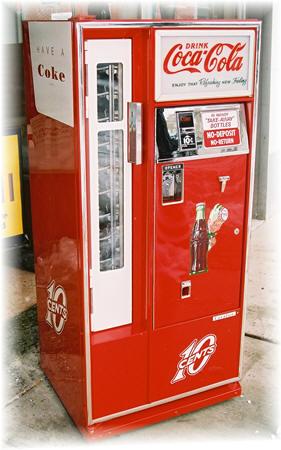 Cavalier 64 Coke Machine