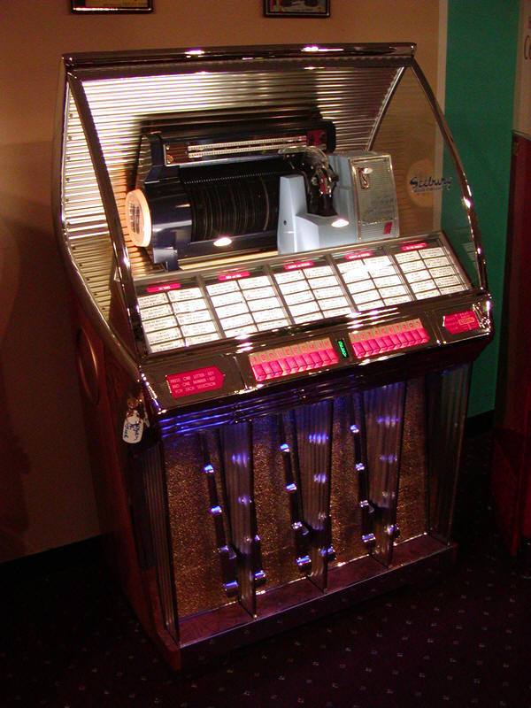 Original Fully Restored 1954 Seeburg R Jukebox Bars And Booths