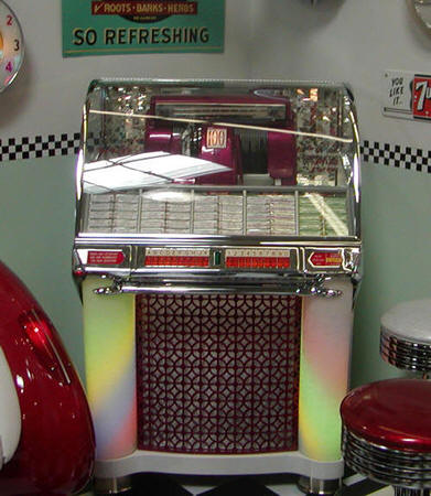 1953 Original Fully Restored Seeburg G Jukebox Bars And Booths