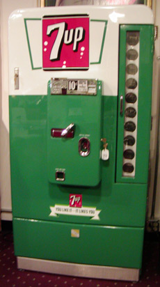 Vmc 110 7up Machine Bars Amp Booths