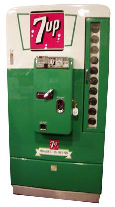 Vmc 110 7up Machine 187 Bars Amp Booths