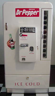 Vmc 110 Dr Pepper Machine Bars Amp Booths