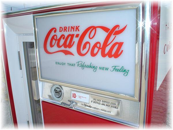vendo coke machine parts