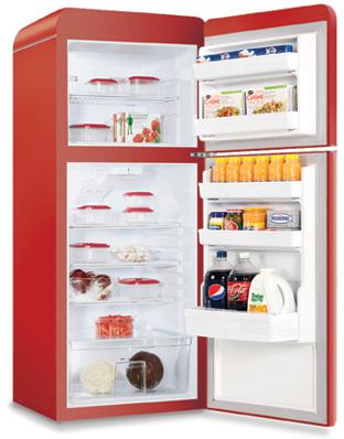 Northstar Refrigerator Model 1951 Open