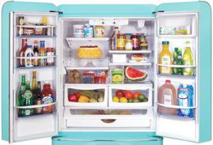 Northstar Refrigerator Model 1958 Open