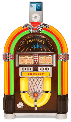 Crosley iJuke Premier Tabletop Jukebox