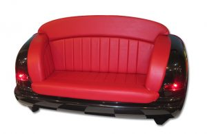 Car Seat Sofa-Hot-Rod-red-black