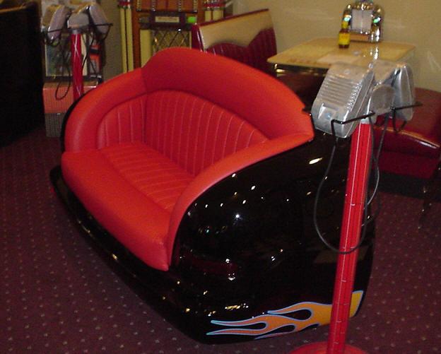 Custom Car Seat Sofa Retro Furniture Seating Game Room