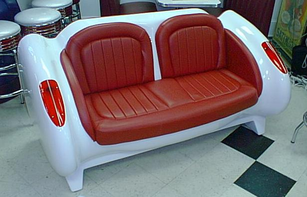 Custom Car Seat Sofa Retro Furniture Seating Game Room