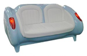 Blue Car Sofa