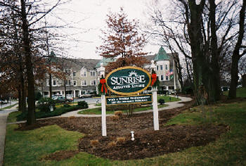 Sunrise Senior Living Facility Frederick MD