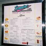 Sunrise Senior Living Menu Board