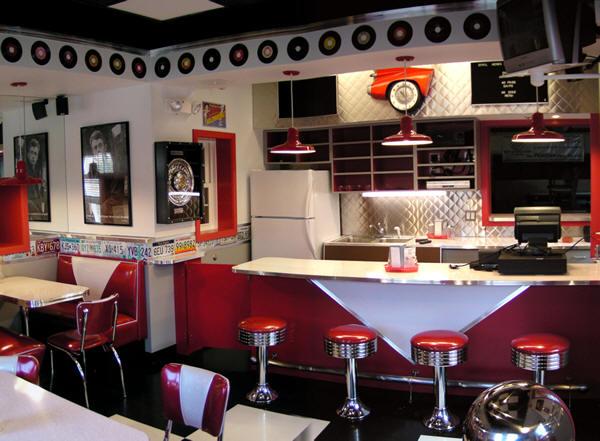 Cadillac cafe woburn boys and girls club bars booths for Barra bar vintage