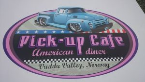 Pick up Cafe Logo
