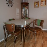 Retro Dinette Set by BARSandBOOTHS.com